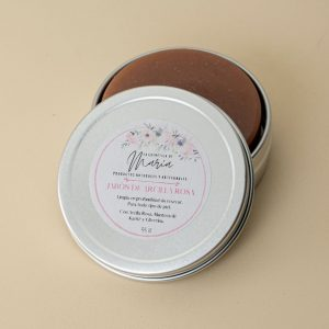 jabon facial purificante de arcilla rosa