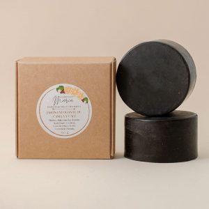 jabon exfoliante de canela y cafe