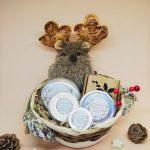 cesta de navidad estándar reno