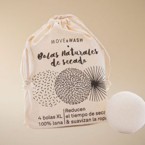 bolas naturales de secado