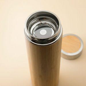 termo-botella de bambu