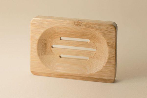 jabonera de bambu